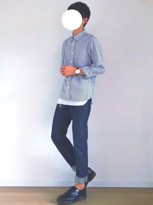 無印良品のシャツ・ブラウスを使ったAge.のコーディネートです。WEARはモデル・俳優・ショップスタッフなどの着こなしをチェックできるファッションコーディネートサイトです。
