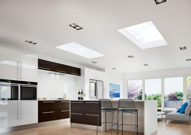 The ECO+ roof lantern will add a stunning feature in your kitchen extension. You will be able to appreciate the beautiful view of the sky and the ECO+ lantern will let in up to 3 times more natural light than you would with standard vertical windows.