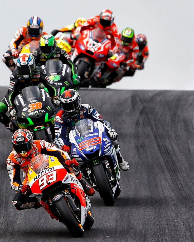 and on the seventh day we race / MotoGP