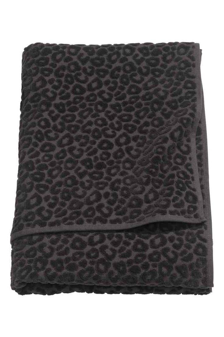H&M - Telo bagno motivo leopardato