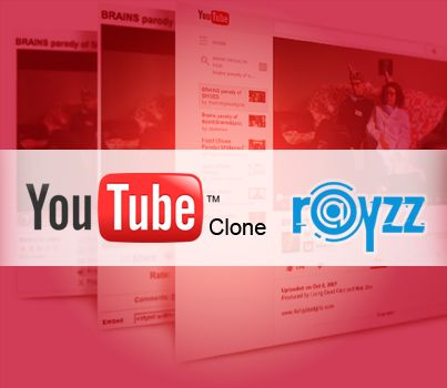 @Agriya Create an irresistible YouTube clone website by using the best video sharing script in the online industry – Rayzz. It is the exceptional script which is enriches the user and the admin experience.  http://customers.agriya.com/products/rayzz3