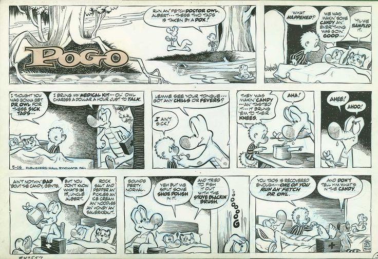 1000+ Images About Walt Kelly's Pogo On Pinterest