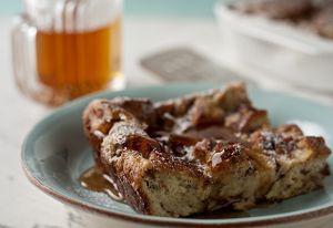 Easy French Toast Casserole uses 1 loaf of Pepperidge Farm Cinnamon Swirl Bread, cut into cubes. Yum!