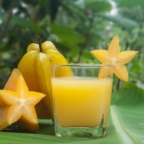 Starfruit Juice We grew up with tons of starfruit which we would pick and eat.  Most people have no idea what to do with the fruit.  This si...