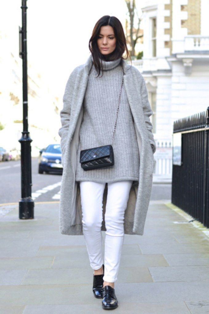 273 best images about white jeans on Pinterest | Winter fashion ...