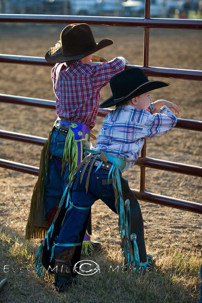 little cowboys:) these are gonna be my boys.... they will take after their daddy;)