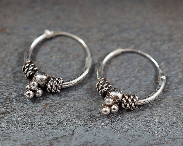A personal favorite from my Etsy shop https://www.etsy.com/listing/517611562/12mm-bali-hoop-earrings925-sterling