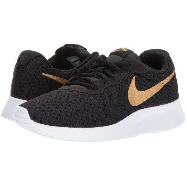 uk store look for pretty nice Nike Tanjun (Black/Metallic Gold) Women's Running Shoes ($65 ...