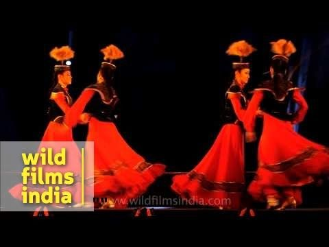 Gakku, a folk dance troupe of Kazakhstan performs in Delhi