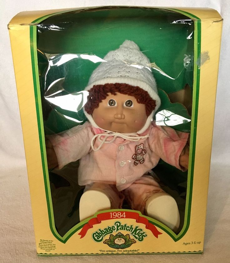 1978 1982 CABBAGE PATCH KID DOLL -SIGNED XAVIER ROBERTS 85 , In Box | eBay