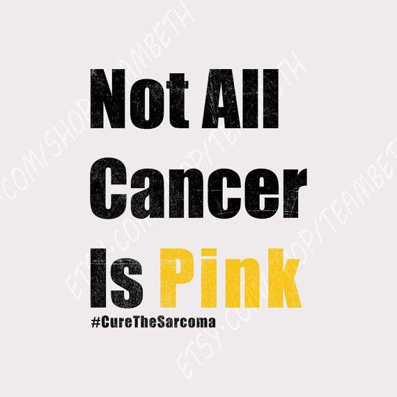 Sarcoma awareness bone cancer soft tissue cancer by TeamBeth