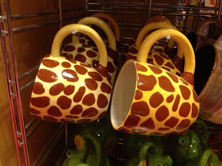 Giraffes ruin coffee. (Thanks, Kelly!)