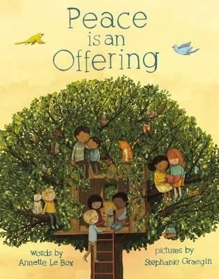 Illustrations and simple, rhyming text show different ways that peace can be found, made, and shared.