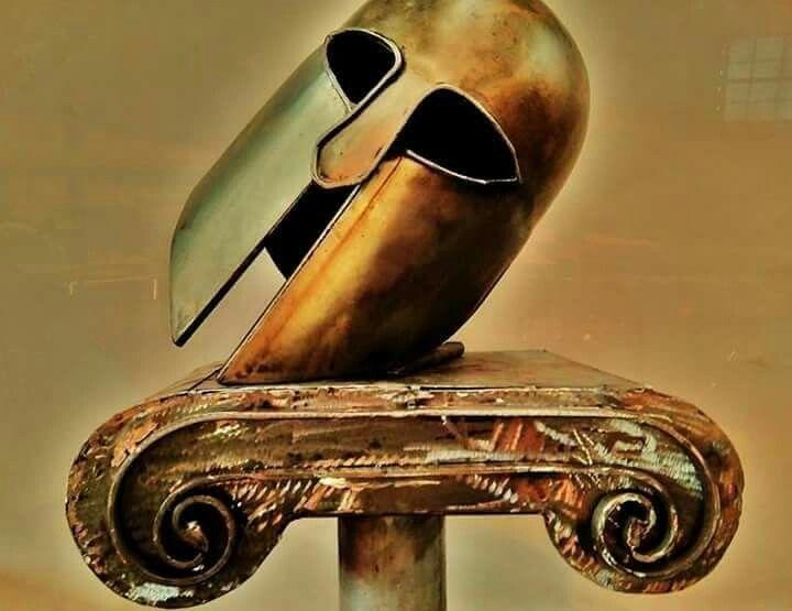 Steel metal art ancient Greece