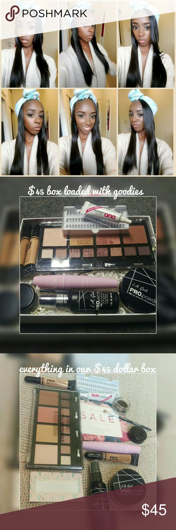 Get this make up look Used the Monthly makeup box to get this look Makeup