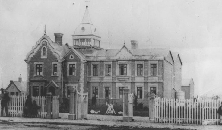 Ballarat Benevolent Asylum on Ascot St,Ballarat in Victoria (year unknown).