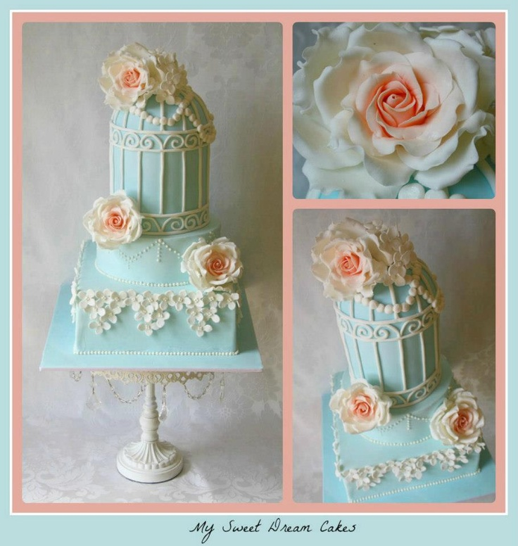 Baby Shower Cakes Perth Wa ~ Vintage birdcage cake by my sweet dream cakes perth