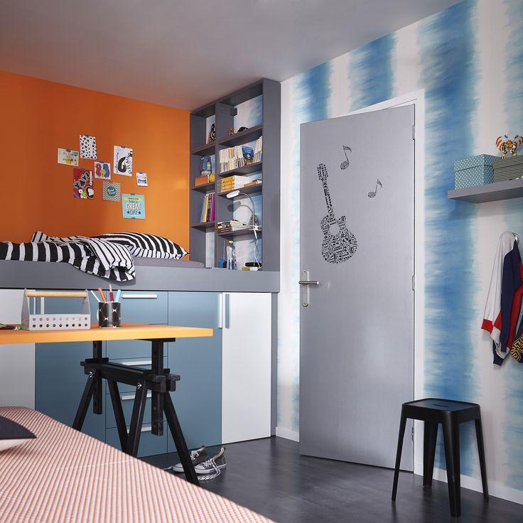 Une chambre dado colorée pour des rêves apaisés ! Adoptez le style ...