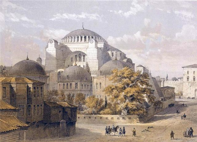 Art Now and Then: The Hagia Sophia, Istanbul, Turkey