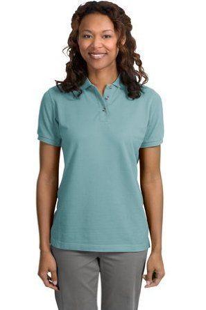 Port Authority Ladies Pique Sport Shirt (L420) Available in 24 Colors XX-Large Seafoam Port Authority. $31.40