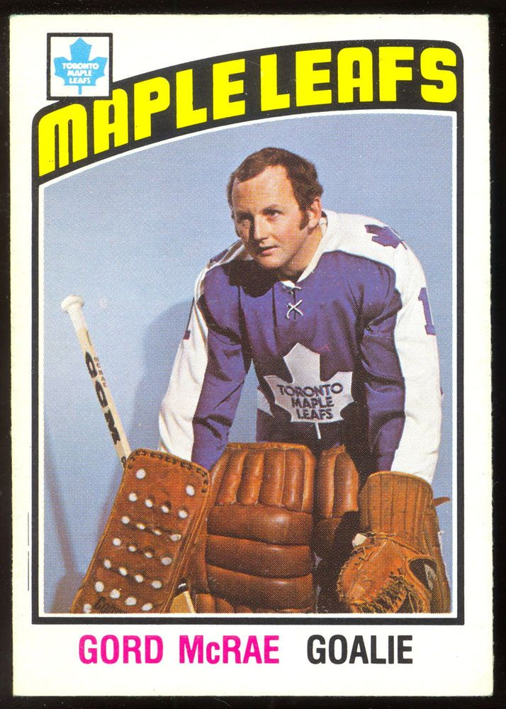 THIS is for a 1976-77 OPC O PEE CHEE HOCKEY #33 7 GORD MCRAE CARD. THE CARD is in EX-NM CONDITION FOR THE YEAR. NICE COLOR FOR THE YEAR, TINY CORNER WEAR. BACK IS VERY NICE.see picture of card for more on the condition. . | eBay!