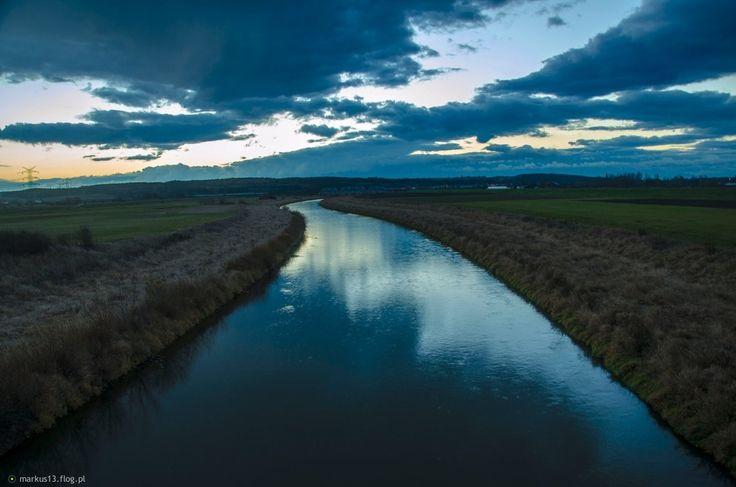 Odra ( Kanał Ulga ) w Raciborzu