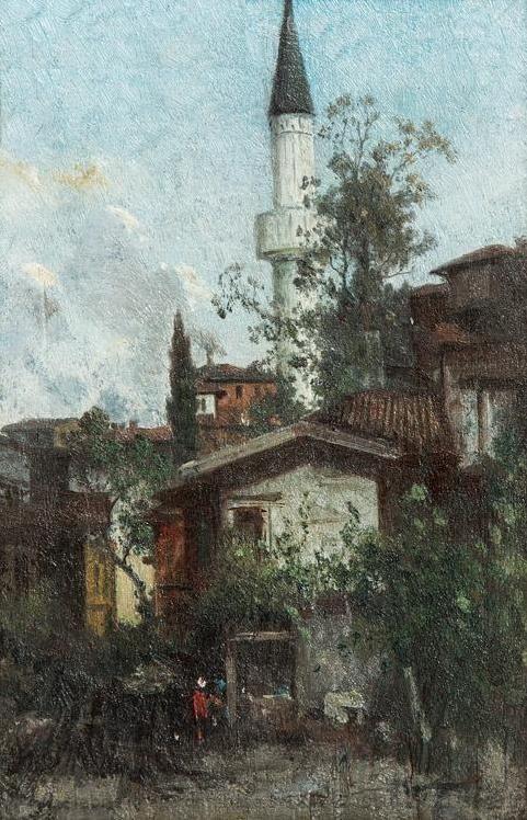 [Ottoman Empire] A Scene from Üsküdar, Istanbul (Osmanlı Dönemi Üsküdar)