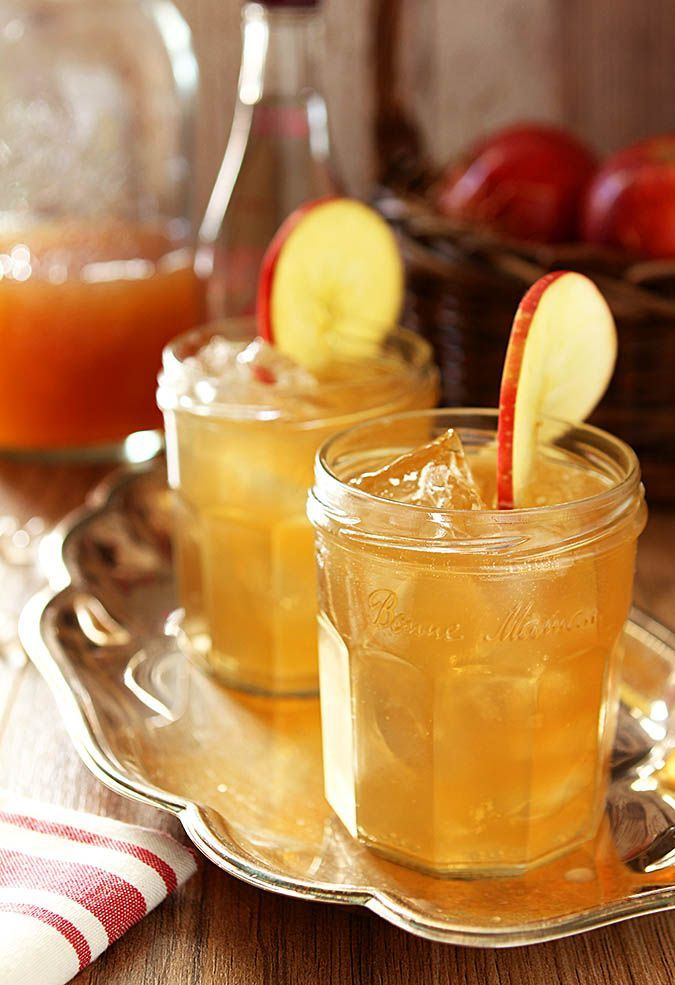 Bourbon and apple cider cocktail recipe apple cider for Cocktail 9 mac