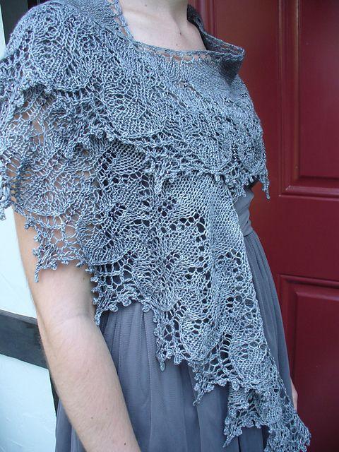 Knitting Pattern Shawl - Ravelry: Sweet Dreams