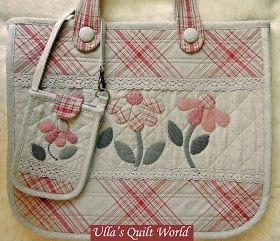di Ulla Quilt mondo: Borsa Quilt - patchwork giapponese