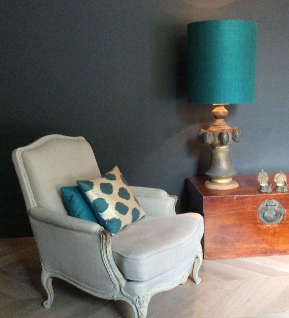 25 beste idee n over blauwgroene muren op pinterest blauwgroene muurkleuren accent - Kamer sfeer ...