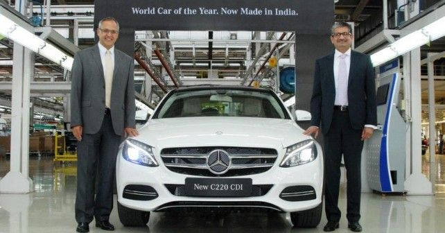 Mercedes-Benz launches made in India C 220 CDI at Rs 37.90 lakhs - autoX