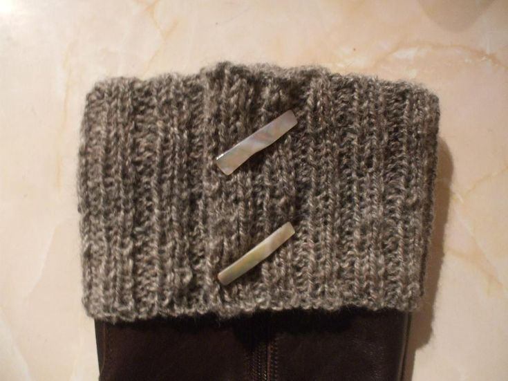 Free Knitting Pattern For Boot Cuffs Ivoiregion