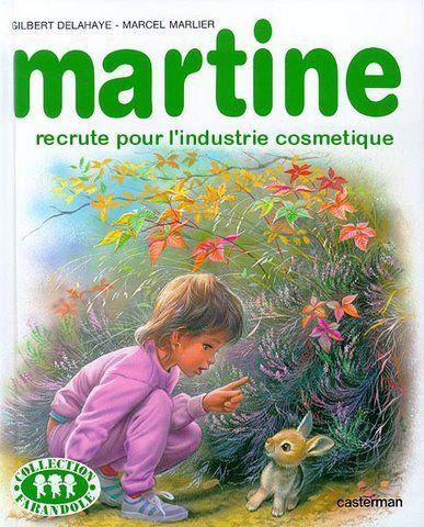 Martine recrute pour l'industrie cosmétique