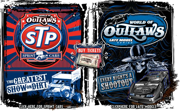 WorldofOutlaws.com | Home of the World of Outlaws STP Sprint Car Series & World of Outlaws Late Model Series.