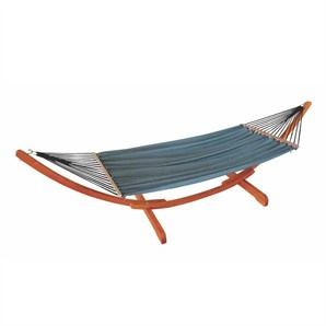 Mimosa Curved Timber Hammock - Bunnings Warehouse