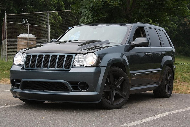 Jeep Grand Cherokee SRT8! These things are so beautiful. Ring it up haha