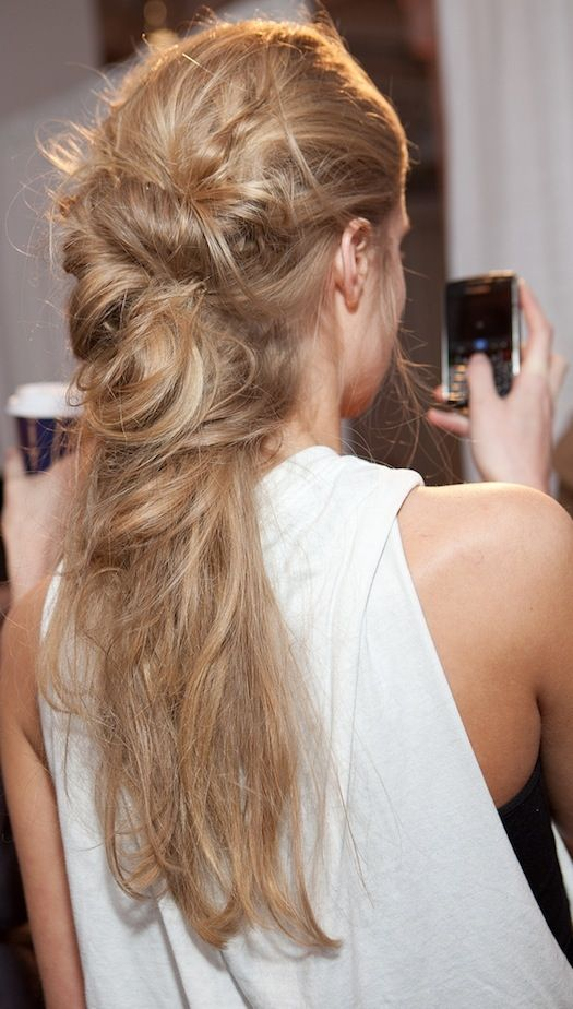 COOL AND SIMPLE HAIR STYLE BY AVEDA