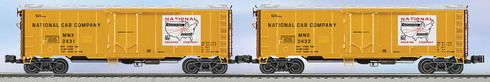 Lionel 6-6-21941 National Steel-Sided Refrigerator Car 2-Pack