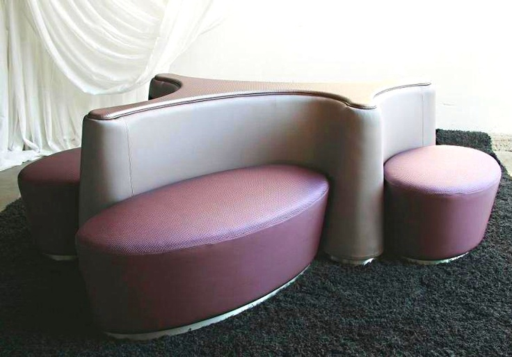 1000 images about seating otomans on pinterest - Canape dna altek italia design ...