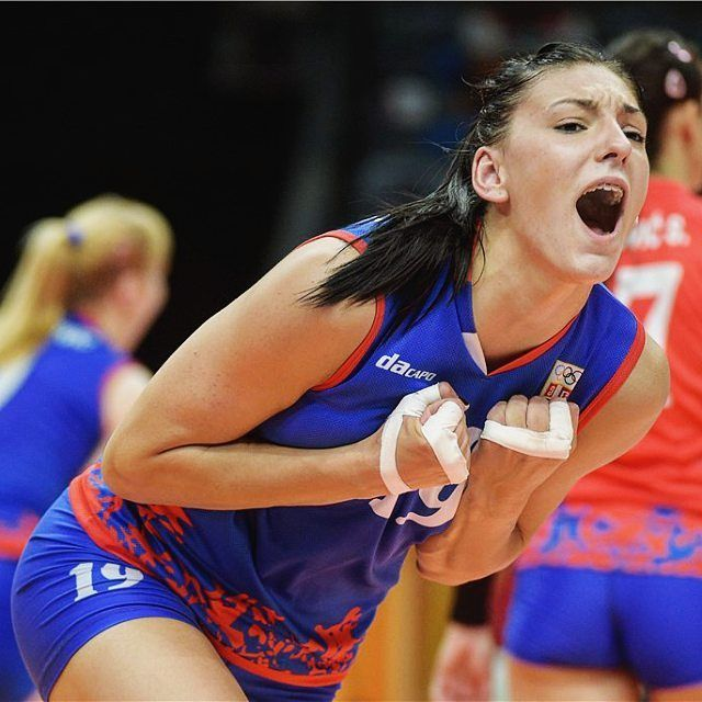 Olympics this is yours #volleyball #semifinals #rio2016 #tijanaboskovic…