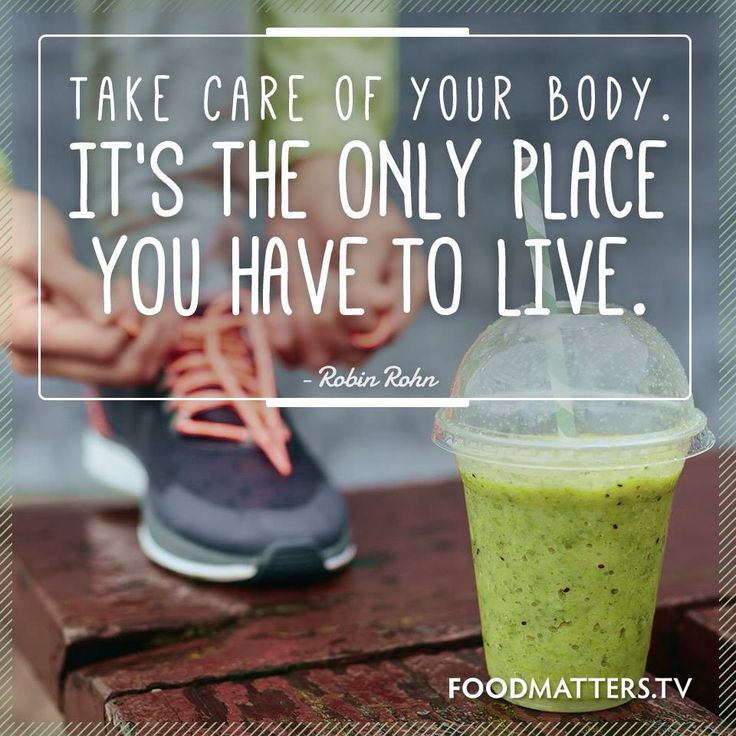 Fuel your body for life
