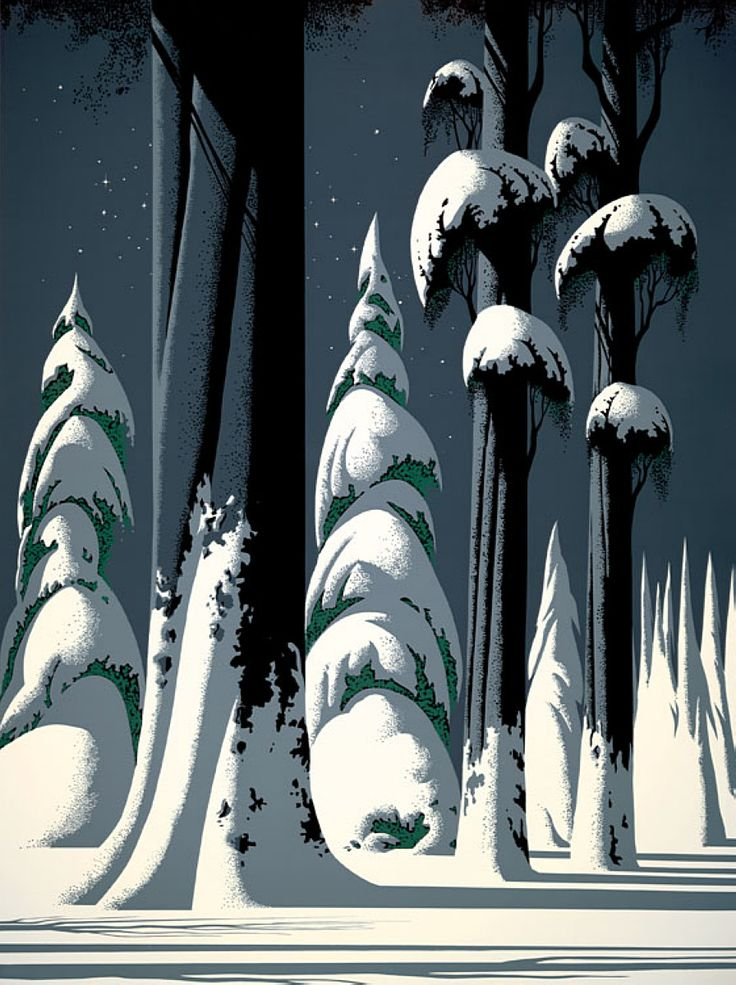 Yosemite - Eyvind Earle