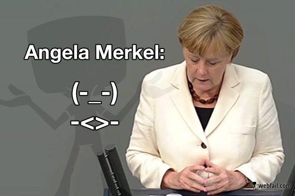 Der Kanzler Smiley - Fun Bild | Webfail - Fail Bilder und Fail Videos