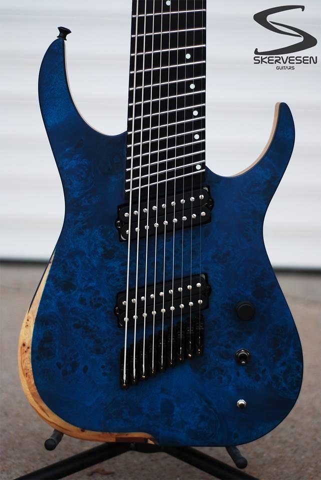 skervesen 9 string guitar guitars pinterest. Black Bedroom Furniture Sets. Home Design Ideas