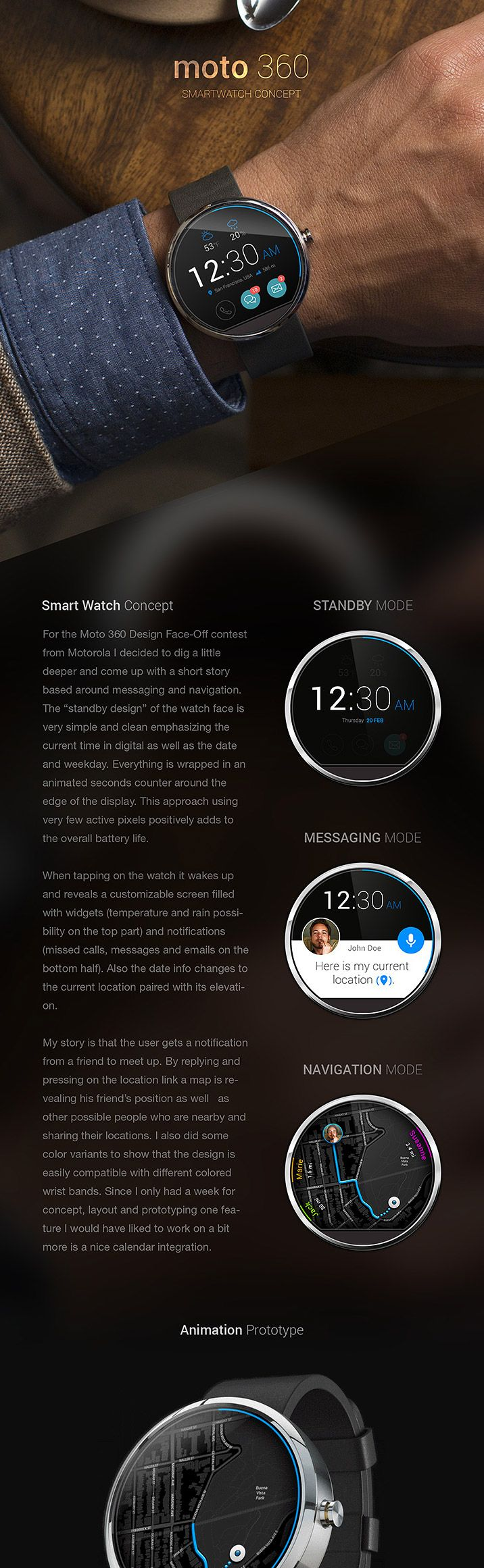 23 Smartwatch UI Designs & Concepts