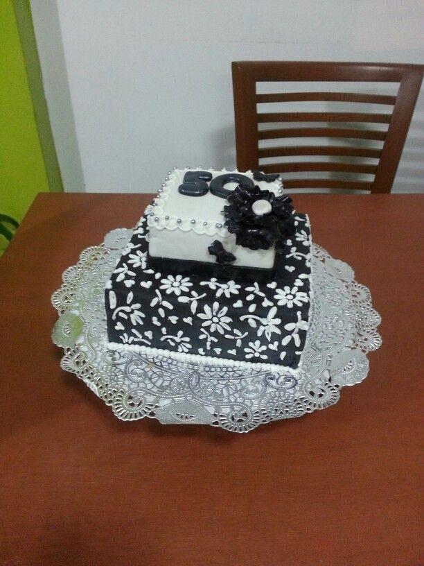 Una torta elegante
