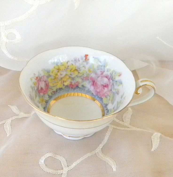 Jyoto china tea cup made in occupied japan vintage item for How are blue roses made