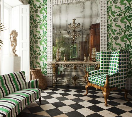 Lorenzo Castillo - Gaston y Daniela for Kravet Collections | Home Furnishings