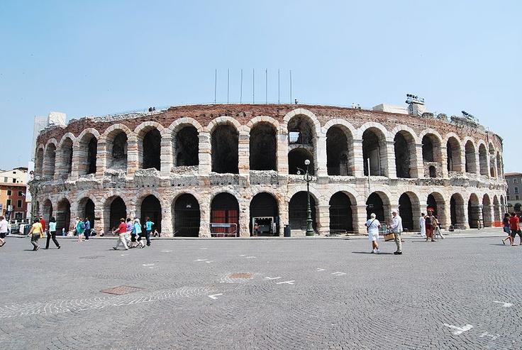 Verona Arena. Verona, Italy.